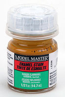 Testors (bulk of 6) Model Master Rust #1 Detail Stain Flat 1/2 oz Hobby and Model Enamel Paint #2180