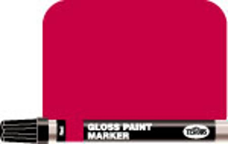 Testors 1/3 oz Enamel Paint Marker Gloss Red Hobby Paint Marker #2503c