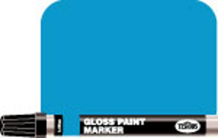 Testors 1/3 oz Enamel Paint Marker Gloss Light Blue -- Hobby Paint Marker -- #2508c