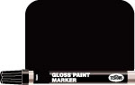 Testors 1/3oz. Tube Enamel Paint Marker Gloss Black