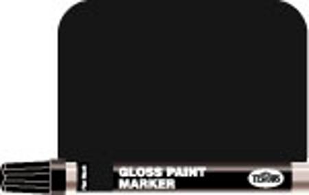 1/3 oz Enamel Paint Marker Flat Black
