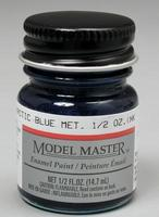 Testors Model Master Arctic Blue Metallic 1/2 oz Hobby and Model Enamel Paint #2702