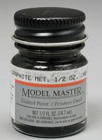 Testors 1/2oz. Bottle Model Master Enamel Metallic Graphite (6/Bx)