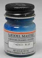 Testors Model Master French Blue 1/2 oz Hobby and Model Enamel Paint #2715