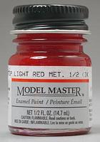 Testors Model Master Stop Light Red Metallic 1/2 oz