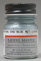 Testors 1/2oz. Bottle Model Master Enamel Pontiac Engine Metallic Blue (6/Bx)