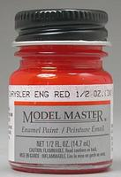 Testors Model Master Chrysler Engine Red 1/2 oz