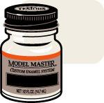 Testors Model Master Clear Top Coat 1/2 oz -- Hobby and Model Enamel Paint -- #2736