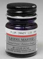 Testors 1/2oz. Bottle Model Master Enamel Plum Crazy (6/Bx)
