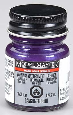 Testors Model Master Pearl Grape Gloss 1/2 oz -- Hobby and Model Enamel Paint -- #2760