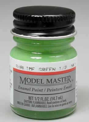 Testors Model Master Sublime Green 1/2 oz