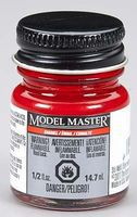 Testors Model Master Fire Red 1/2 oz Hobby and Model Enamel Paint #2772