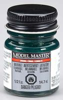 Testors Model Master Pearl Dark Green Gloss 1/2 oz Hobby and Model Enamel Paint #2779