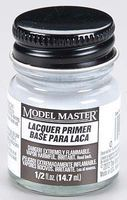 Testors Model Master Super Fine Gray Lacquer Primer 1/2 oz Hobby and Model Lacquer Paint #2782