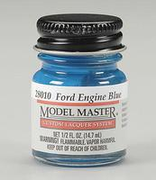 Testors Model Master Ford & GM Engine Blue 1/2 oz Hobby and Model Lacquer Paint #28010