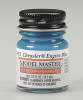 Testors Model Master Chrysler Engine Blue 1/2 oz Hobby and Model Lacquer Paint #28012