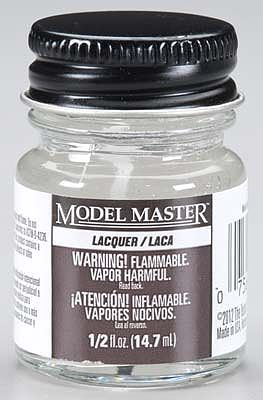 Testors Model Master Multi-Color Glitter Clear 1/2 oz -- Hobby and Model Lacquer Paint -- #28017