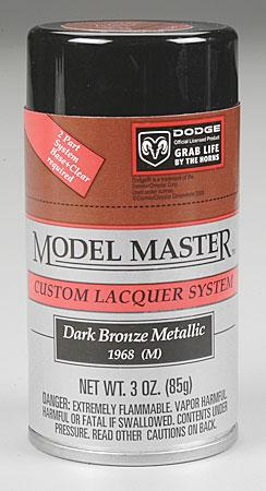 Testors Model Master Spray Bronze Metallic 3 oz Hobby and Model Lacquer Paint #28111