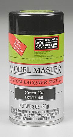 Testors Model Master Spray Green-Go 3 oz -- Hobby and Model Lacquer Paint -- #28118