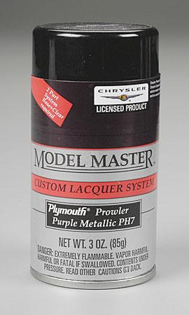 Testors Model Master Spray Purple Metallic 3 oz -- Hobby and Model Lacquer Paint -- #28123