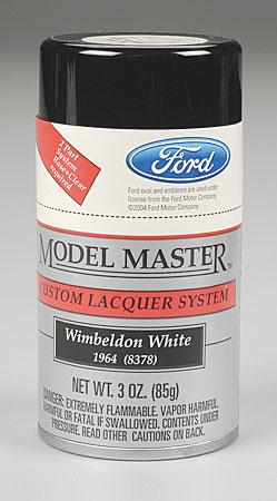 Testors Model Master Spray Wimbeldon White 3 oz Hobby and Model Lacquer Paint #28132