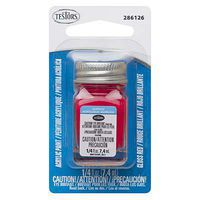 Testors .25oz Acrylic Gloss Red Card Hobby and Model Paint #286126