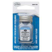 Testors .25oz Acrylic Silver Card Hobby and Model Paint #286130