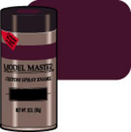Testors Model Master Spray Burgundy Red Metallic 3 oz -- Hobby and Model Enamel Paint -- #2905