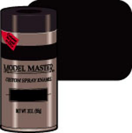 Testors Model Master Spray Black Metallic 3 oz