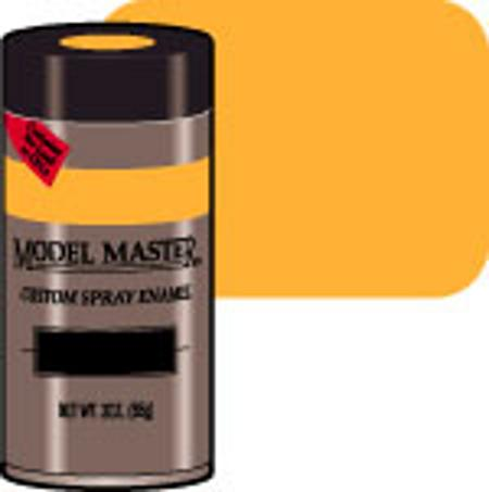 Testors Model Master Spray Bright Yellow 3 oz Hobby and Model Enamel Paint #2917