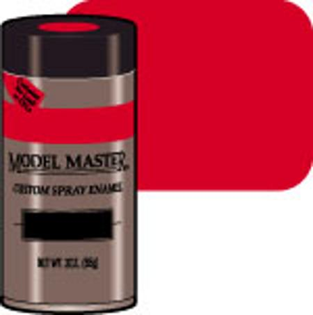 Testors Model Master Spray Italian Red 3 oz -- Hobby and Model Enamel Paint -- #2919