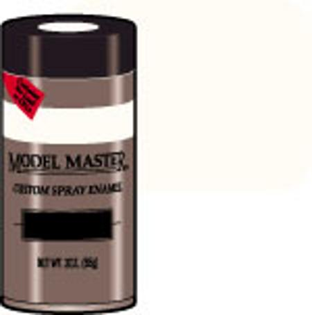 Testors Model Master Spray White Primer 3 oz Hobby and Model Enamel Paint #2948