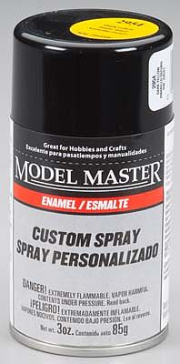 Testors Model Master Spray Dark Yellow 3 oz Hobby and Model Enamel Paint #2954