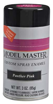 Testors Model Master Spray Panther Pink 3 oz -- Hobby and Model Enamel Paint -- #2957