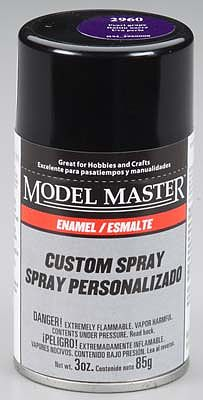 Testors Model Master Spray Pearl Grape Gloss 3 oz