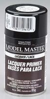 Testors Model Master Spray Super Fine White Lacquer Primer Hobby and Model Lacquer Paint #2961