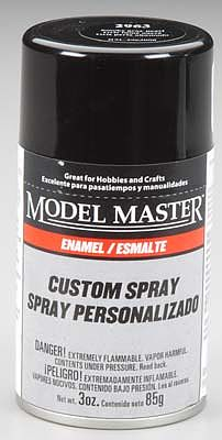 Testors 3oz. Spray Model Master Enamel Smoke Gray Pearl