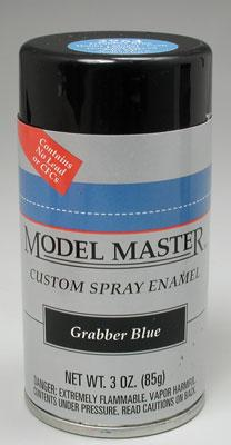 Testors Model Master Spray Grabber Blue 3 oz Hobby and Model Enamel Paint #2964