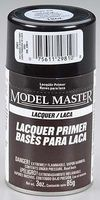 Testors Model Master Spray Gray Sandable Lacquer Primer Hobby and Model Lacquer Paint #2981