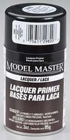 Testors Model Master Spray Super Fine Gray Lacquer Primer Hobby and Model Lacquer Paint #2982