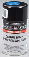 Testors Model Master Spray Blue Clear Flip Flop Gloss 3 oz Hobby and Model Enamel Paint #2985