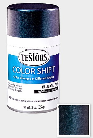 Testors 3 oz Testors Colorshift, Blue Galaxy