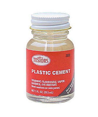 Testors Liquid Plastic Cement 1 oz Plastic Model Cement #3502