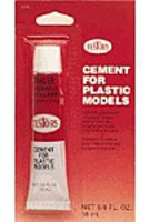 Testors Plastic Cement 5/8 oz Card Plastic Model Cement #3516x