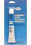 Testors Non-Toxic Cement 7/8 oz Carded Plastic Model Cement #3522x