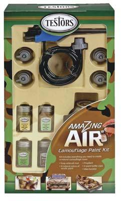 Testors Amazing Air Camouflage Paint Set Hobby and Model Paint Set #4034