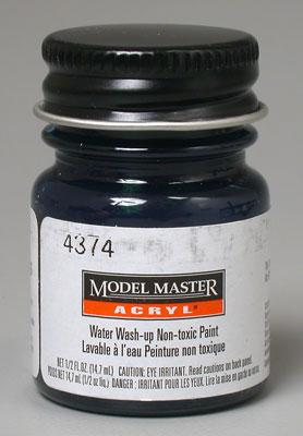 Testors 1/2oz. Bottle Model Master Acrylic II Fantasy Figure Phthalo Blue (6/Bx) (D)