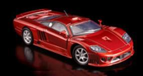 Testors Saleen S7 Metallic Red Metal Metal Body Plastic Model Car Kit 1/24 Scale #440150