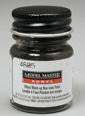 Testors Model Master Burnt Umber FG02005 1/2 oz -- Hobby and Model Acrylic Paint -- #4605