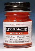 Testors Model Master Chevy Engine Red GP00250 1/2 oz -- Hobby and Model Acrylic Paint -- #4629